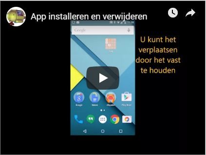App installeren en verwijderen